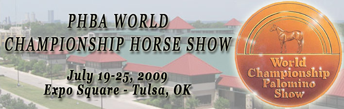 2009 PALOMINO OPEN WORLD CHAMPIONSHIP